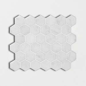 Calacatta T Honed 10 3/8x12 Hexagon