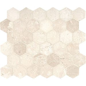 Sahara Beige Honed 10 3/8x12 Hexagon