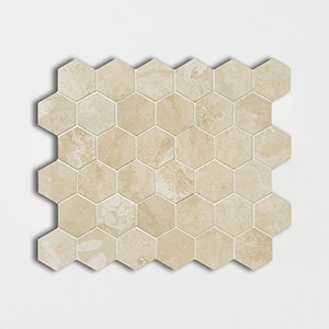 Chiaro Honed&filled 10 3/8x12 Hexagon