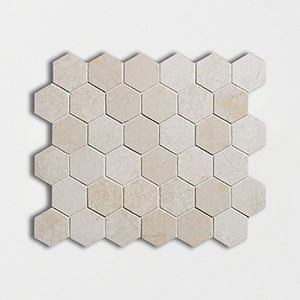 Galala Polished 10 3/8x12 Hexagon