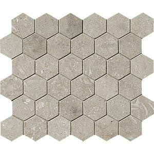 Seagrass Honed 10 3/8x12 Hexagon