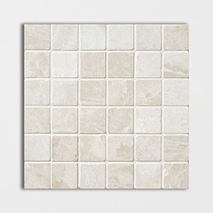 Royal Beige Tumbled 12x12 2x2