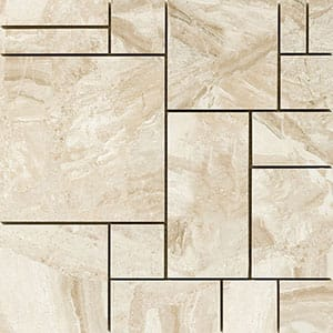 Royal Beige Polished 12x12 Ashlar Pattern