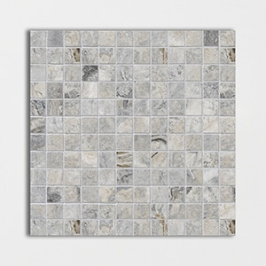 Silver Travertine Honed&filled 12x12 1x1