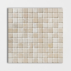 Sylvester Beige Tumbled 12x12 1x1