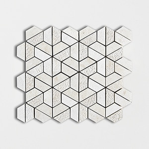 Thala Beige Textured 10 3/8x12 Hexagon