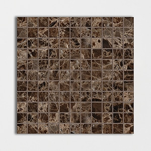 Emperador Dark Polished 12x12 1x1