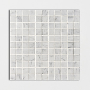 Italian Carrara Polished 12x12 1x1