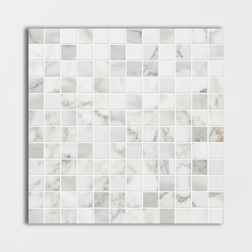 Now Available White Calacatta Gold Polished 12x12 1x1