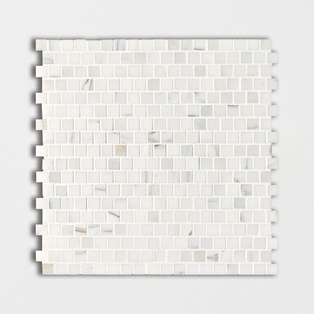 Now Available White Calacatta Gold Polished 12x12 5 8x5 8