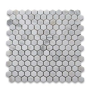 Calacatta Gold Standard Honed 12x12 Hexagon 1x1