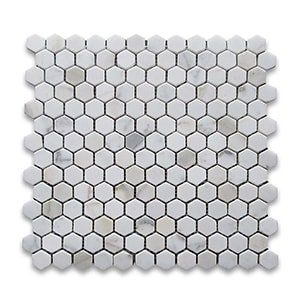 Calacatta Gold Standard Polished 12x12 Hexagon 1x1