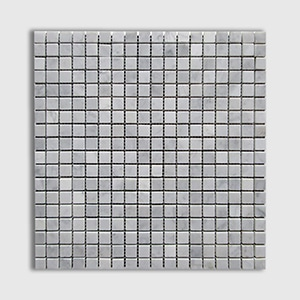 White Carrara Standard Honed 12x12 5/8x5/8