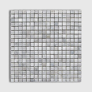 White Carrara Standard Polished 12x12 5/8x5/8