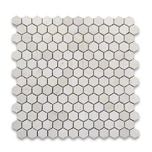 Golden Beach Standard Honed 12x12 Hexagon 1x1