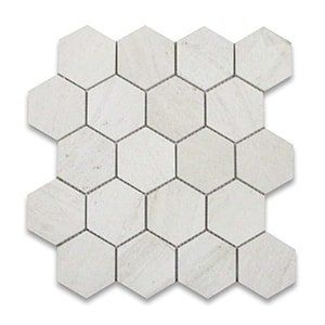 Golden Beach Standard Honed 10 3/8x12 Hexagon 3x3