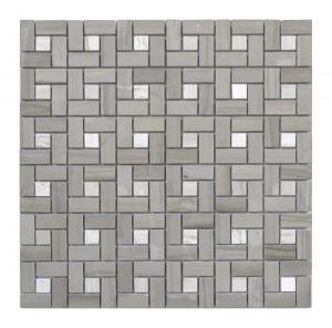 Athens Grey Standard Polished 12x12 Pinwheel