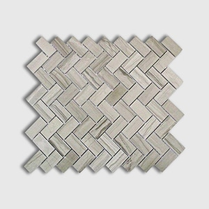 Athens Grey Standard Polished 12x12 Herringbone 1x2