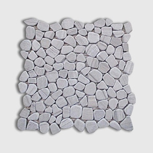 Athens Grey Standard Tumbled 12x12 Crazy Mix