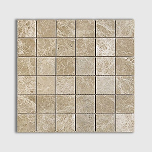 Emperador Light Standard Polished 12x12 2x2