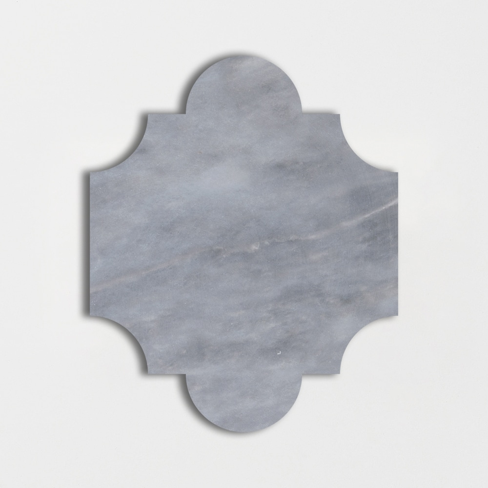 Afyon Grey Light Polished 8x9 3/4 San Felipe