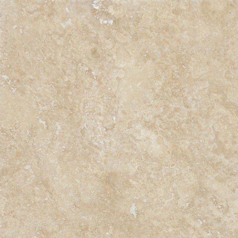 Travertine Tile Chiaro Honed&filled 24x24 In Beige Color