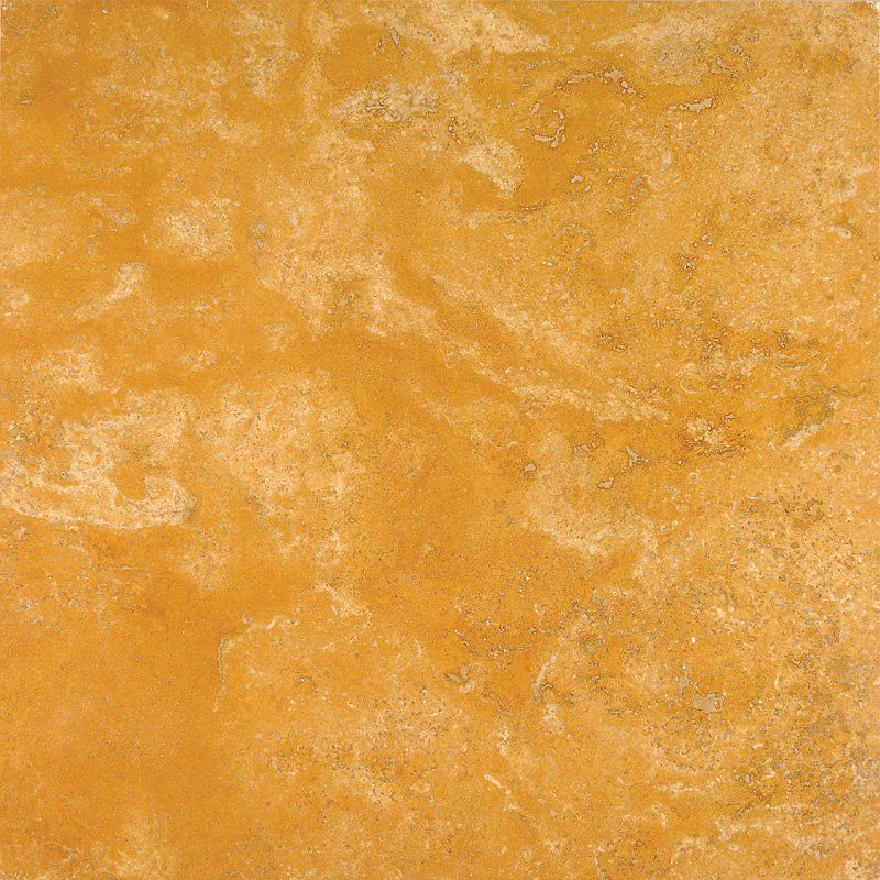 Yellow Giallo Honed Amp Filled 18x18 Travertine Tile