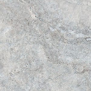 Silver Travertine Honed&filled 4x4