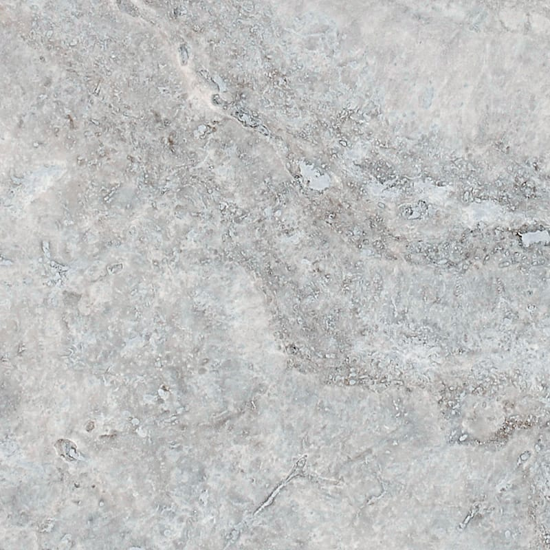 Now Available Grey Silver Travertine Honed Amp Filled 4x4