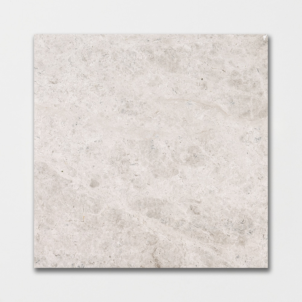 buy silver sky polished 18x18 grey marble tile