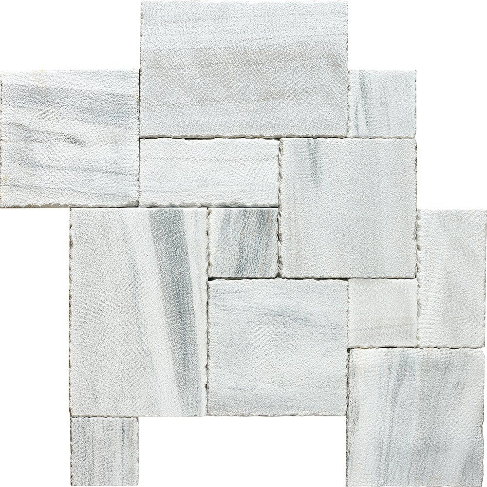 Silver Sky Reclaimed Ashlar Pattern