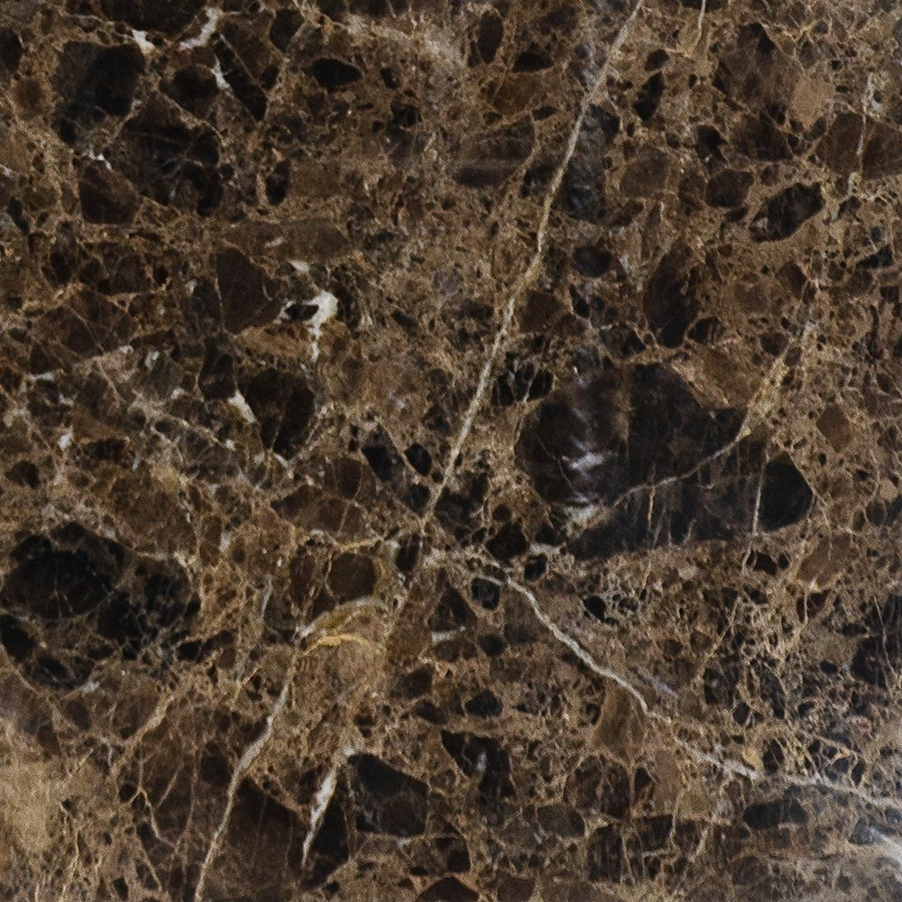 Brown Emperador Dark Polished 18x18 Marble Tile