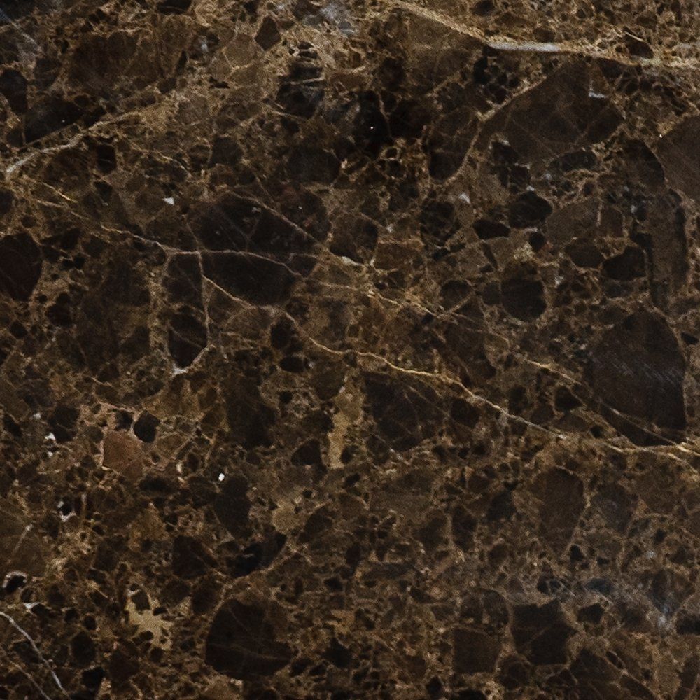 Brown Emperador Dark Polished 5 1 2x5 1 2 Marble Tile