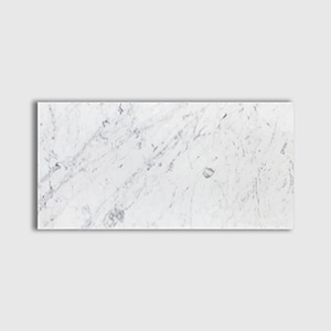 White Carrara Standard Polished 12x24