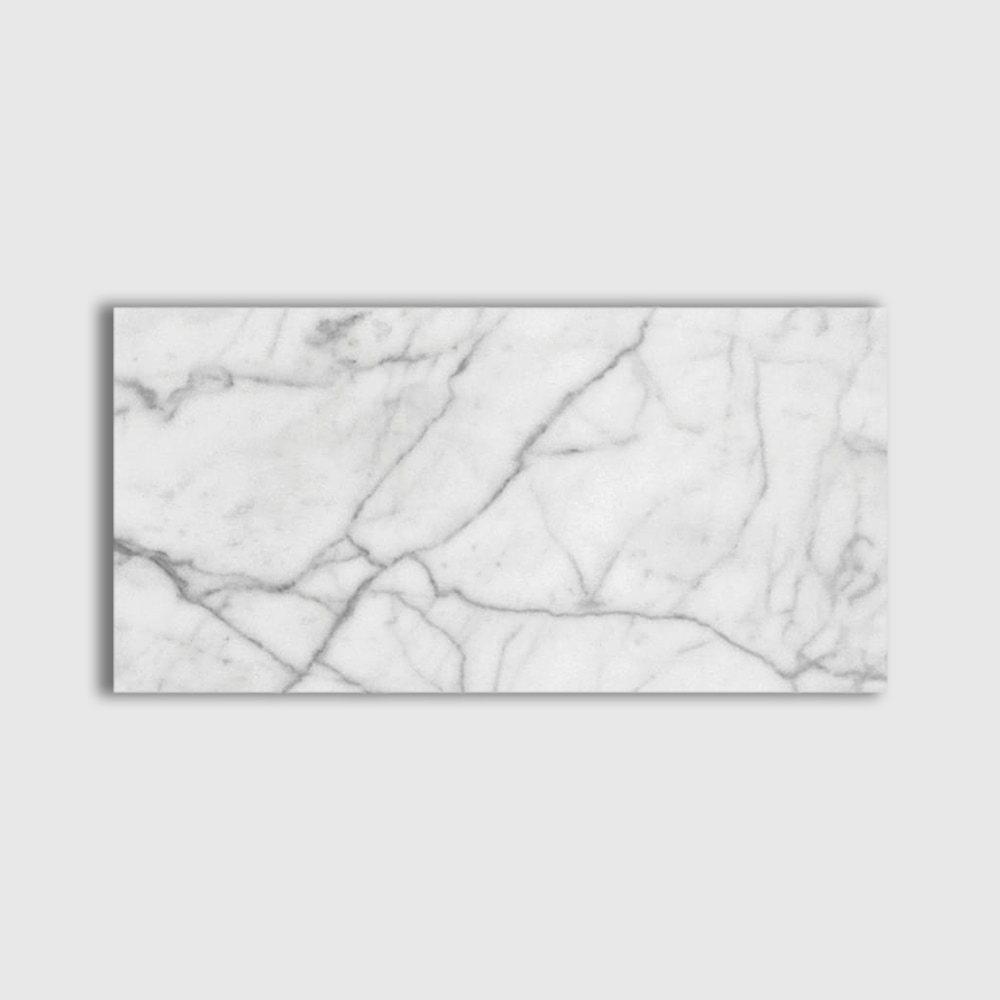 Italian Carrara Polished 6x12