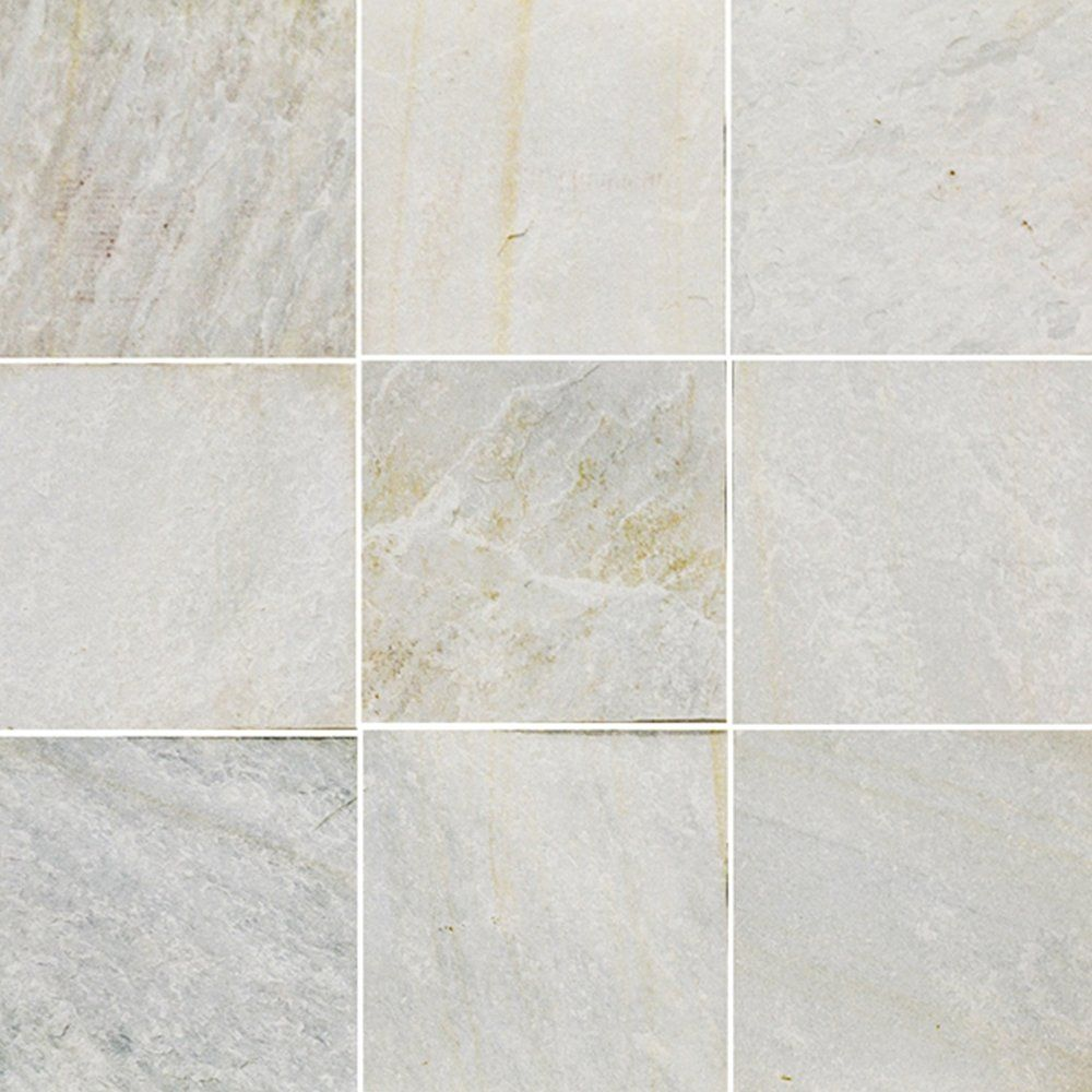 Himachal White Natural Cleft 12x12