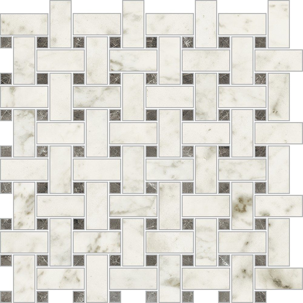 Carrara Blanco Polished 12x12 Trama