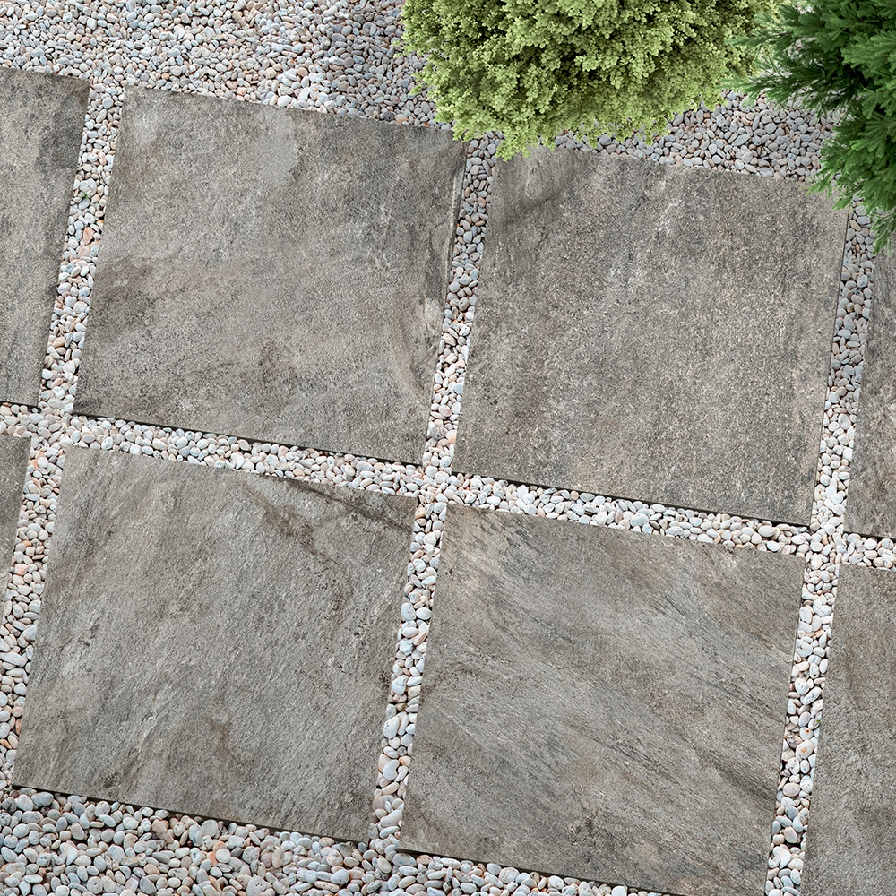 WARM GRAY NATURAL PORCELAIN PAVERS (WDC10002)
