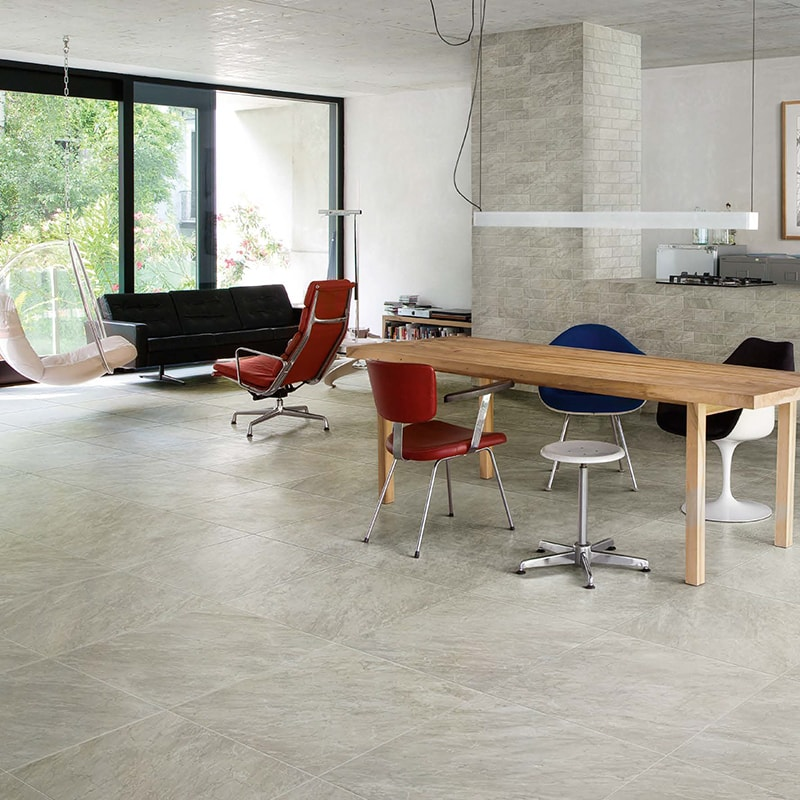 BARDIGLIO GRAY HONED&RECTIFIED PORCELAIN TILES (WPM00052)