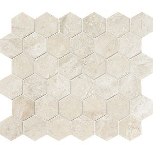 Royal Beige Honed 10 3/8x12 Hexagon